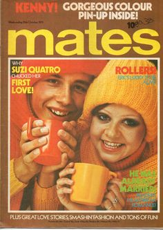 Mates Magazine 25 October 1975 The Bay City Rollers Kenny Suzi Quatro in Music, Music Memorabilia, Pop | eBay