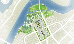 Master Plan Revealed for Binhai Eco City in Tianjin