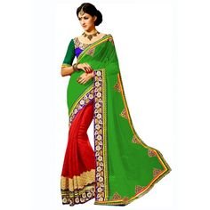 Astounding Georgette Embroidered Work Festive Wear & Party Wear Saree at just Rs.1449/- on www.vendorvilla.com. Cash on Delivery, Easy Returns, Lowest Price.