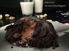 MASTERCHEFMOM: Choco Lava Cake Recipe | Microwave Choco Lava Cake in just 90 seconds | How to make Choco Lava Cake at home | Eggless Recipe | Stepwise Pictures