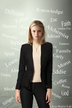 Sydney Sage The Vampire Academy series was her first appearance, but the follow up series, Bloodlines, was about her.