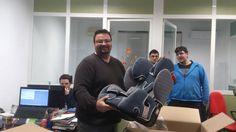 Compartimos una nueva imagen para nuestro Diario de Abordo. Ángel, nuestro compañero del departamento de informática va a ser papá.  ¡Felicidades Ángel!