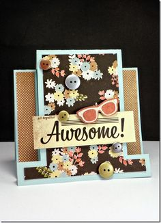 This beautiful card was created by Britt for Heartstrings Designs April Release.