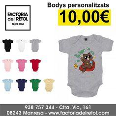 "1 Me gusta, 1 comentarios - FACTORIAdelRÈTOL Manresa (@factoriadelretol) en Instagram: ""#body #bebe #bodypersonalitzat #estampaciotextil #vinil #impressiodigital #manresa #factoriadelretol"" Sweatshirts, Instagram Posts, Sweaters, T Shirt, Women, Fashion, Bebe, Tee, Moda"