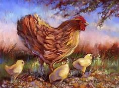 Image result for hens art