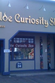 Seattle- Ye Olde Curiosity Shop, Home of the weird, freaky