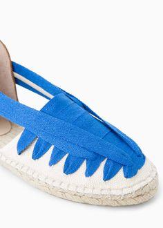 Sandales cuir sparte