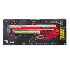 Nerf Ast Rival Zeus MXV 1200 Blaster (i colori possono variare) Nerf Toys, Red Team, Travel Humor, Baby Diaper Bags, Weapons Guns, Kids Store, Toys R Us, Toddler Toys, Baby Toys