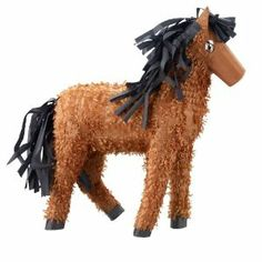 """Horse 20"""" Pinata Party Supplies by Unique Industries, Inc.. $18.00. Includes pinata."""
