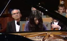 Argentinian-Swiss pianist Martha Argerich plays Tchaikovsky's Piano Concerto No. 1 in B-flat minor, Op. 23. OSR conducted by Charles Dutoit.