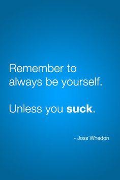 Joss Whedon = genius.