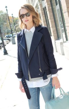 jeans veste le style ppf lopard pull mode pincher moto penny springtime things navy moto moto jacket penny pincher