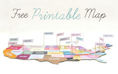More Design Please - MoreDesignPlease - Freebie: Printable Map Puzzle