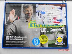 710. - Plakaten in Stockach. / 22.11.2015./