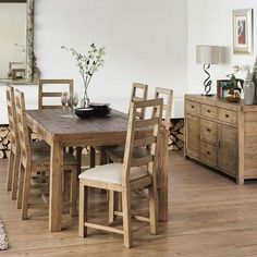 Dining Room Furniture | Reclaimed Wood Dining Chair | Modish Living