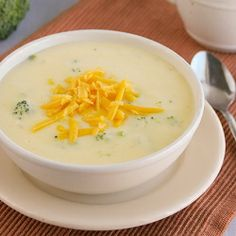Easy Broccoli Cheese Soup - made in 30 minutes!