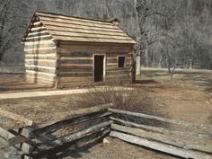 Abraham Lincoln's Boyhood Home at Knob Creek - Abraham Lincoln Birthplace National Historical Park (U. Abraham Lincoln Birthplace, Lincoln Logs, My Old Kentucky Home, Le Far West, Park Service, Log Homes, Virtual Tour, State Parks, Places To See
