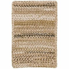 Ocracoke Tan Rug Rug Size: Cross Sewn 8' x 11' by Capel Rugs. $1508.00. 0425XS08001100625 Rug Size: Cross Sewn 8' x 11' Features: -Technique: Braid.-Material: 95pct Cotton, 5pct polyester.-Origin: USA.-100pct Reversible.-20'' x 30'' concentric.-24'' x 36'' concentric.-2' x 8' concentric runner.-27'' x 48'' concentric.-2'3'' x 9' concentric runner.-36'' concentric square.-2' x 8' concentric runner.-3' x 5' concentric.-4' x 6' concentric.-5' x 8' concentric.-5'6'' concentr...
