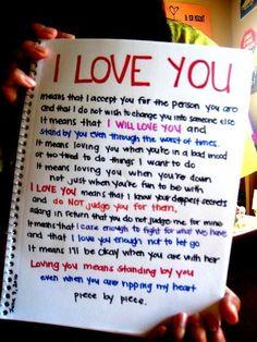 romantic love letter husband