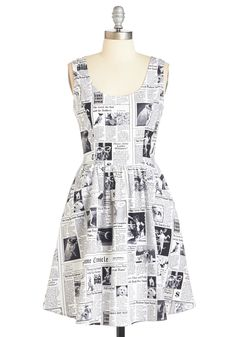 Start Spreading the Pooch Dress, #ModCloth