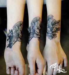 Tattoo by Niko Inko at Street Tattoo in Franconville, France