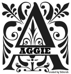 A FOR AGGIE