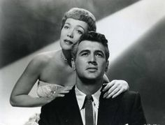 """Rock Hudson & Jane Wyman together in """"Magnificent Obsession"""""""