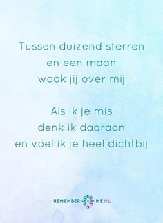 Een engel op de schouder. Een quote over het afscheid, het verdriet en het gemis na de dood van een geliefde. Vind meer inspiratie over de uitvaart en rouwen op http://www.rememberme.nl