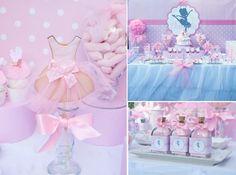 Ballerina Ballet Girl Dance Pink 5th Birthday Party Planning Ideas