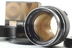 [Near Mint + Hood] Olympus OM System G Zuiko Auto S 55mm F/1.2 From Japan #336 #Olympus F 1, Olympus, Lens, Japan, Ebay, Klance, Lentils, Japanese
