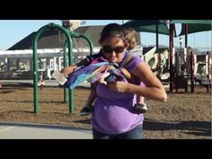 One of PAXbabys many talented wrappers, PAXmommy Christina demonstrates how to maneuver around a 35 week pregnant tummy with a toddler!  Her instructions of the Secure High Back Carry are so simple and easy; thankfully since the happy park noises in the background may cause you to mute this video :) Thank you for watching, and if you have any q...