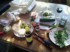 KOKEN MET ONKRUID - nieuw blog waar recepten en foto's met onkruid geplaatst gaan worden.