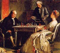 """""""La vida es como el ajedrez: con lucha, competición y eventos buenos y malos"""" -Benjamín Franklin"""
