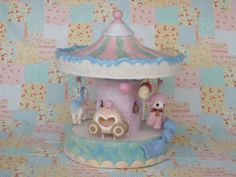 「 羊毛メリーゴーランド♪馬車とバックスタイル 」の画像|Feutre-Mille~羊毛フェルト日記~|Ameba (アメーバ)