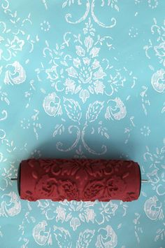 Patterned paint roller for Home Decor No.20 by haubenart on Etsy, $24.00