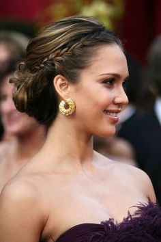 These red carpet 'dos can be easily adapted for all your party hair needs.