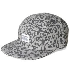 Norse Projects 5 Panel Printed Camo Cap (Cloud Grey)