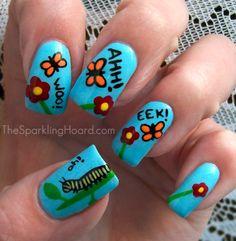 Caterpillar Nails