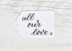 Wedding favour labels, table tags, place setting gift cards or favour tags, guest favours or valentine's tags Wedding Places, Wedding Place Cards, My Etsy Shop, Unique Jewelry, Handmade Gifts, Lettering, Check, Wedding Reception Venues, Kid Craft Gifts