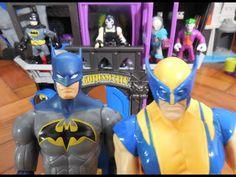 Cadeia Prisão Gotham City Jail Imaginext  Batman  Bane Homem Aranha Wolv...