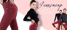 Nice dark red jeans for women and men Red Jeans For Women, Marmaris, London, Basel, Dark Red, Bordeaux, Button, Nice, Go Outside