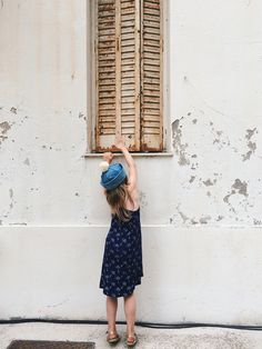 Styles of the Summer — Enfants Terribles Magazine Little name dress - Noé & Zoë Almost There, Celine, To My Daughter, Vsco, Summer Dresses, Sailor, France, Hat, Magazine