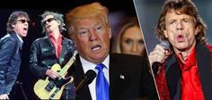 Trump again plays Rolling Stones' music at celebration