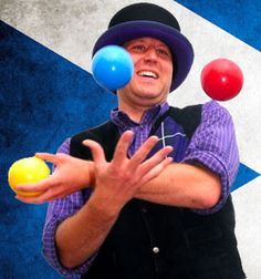 You can clown around whilst developing their concentration, coordination and self-awareness through a range of fun circus skills activities, like plate spinning Clowning Around, Carnival Themes, The Greatest Showman, Theme Ideas, Outdoor Activities, Spinning, Devil, Sticks, Balls