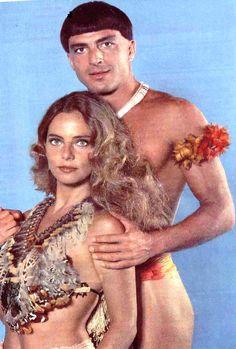 Bruna Lombardi e Carlos Alberto Ricelli em ARITANA, de 79. Foto de divulgação.