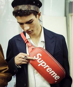 Louis Vuitton X Supreme  Fall 2017 Menswear Collection  Pics from Supreme Instagram www.theAlienChild.com