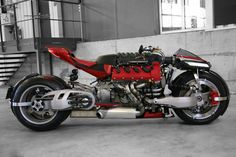 Insane Lazareth LM 847 Bike Uses a 470 HP Maserati V8 Engine
