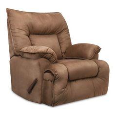 Franklin Tristin Mink Microfiber Dual Reclining Sofa And