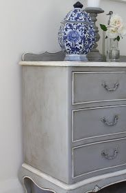 French Chateaux dresser painted by Lilyfield Life