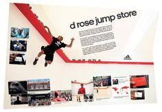 Adidas d rose Jump Store. Advertising Awards, Clever Advertising, Ads Creative, Creative Words, Cannes, Adidas D Rose, Creative Communications, Digital Campaign, Concept Board